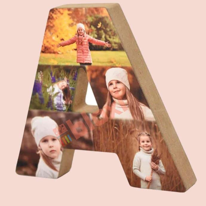 בלוק עץ אותיות