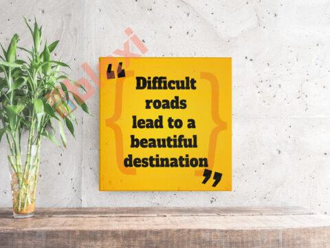 בלוק השראה Beautiful destination 17x17