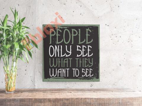 בלוק השראה People only see 17x17